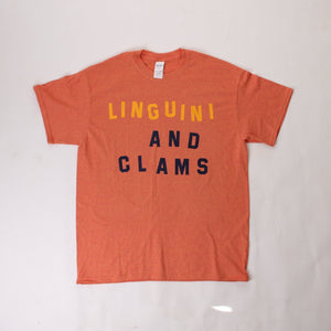 "Katie Kimmel ""Linguini and Clams"" tee"