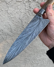 "Andrea Lisch 8.5"" feathered chef's"