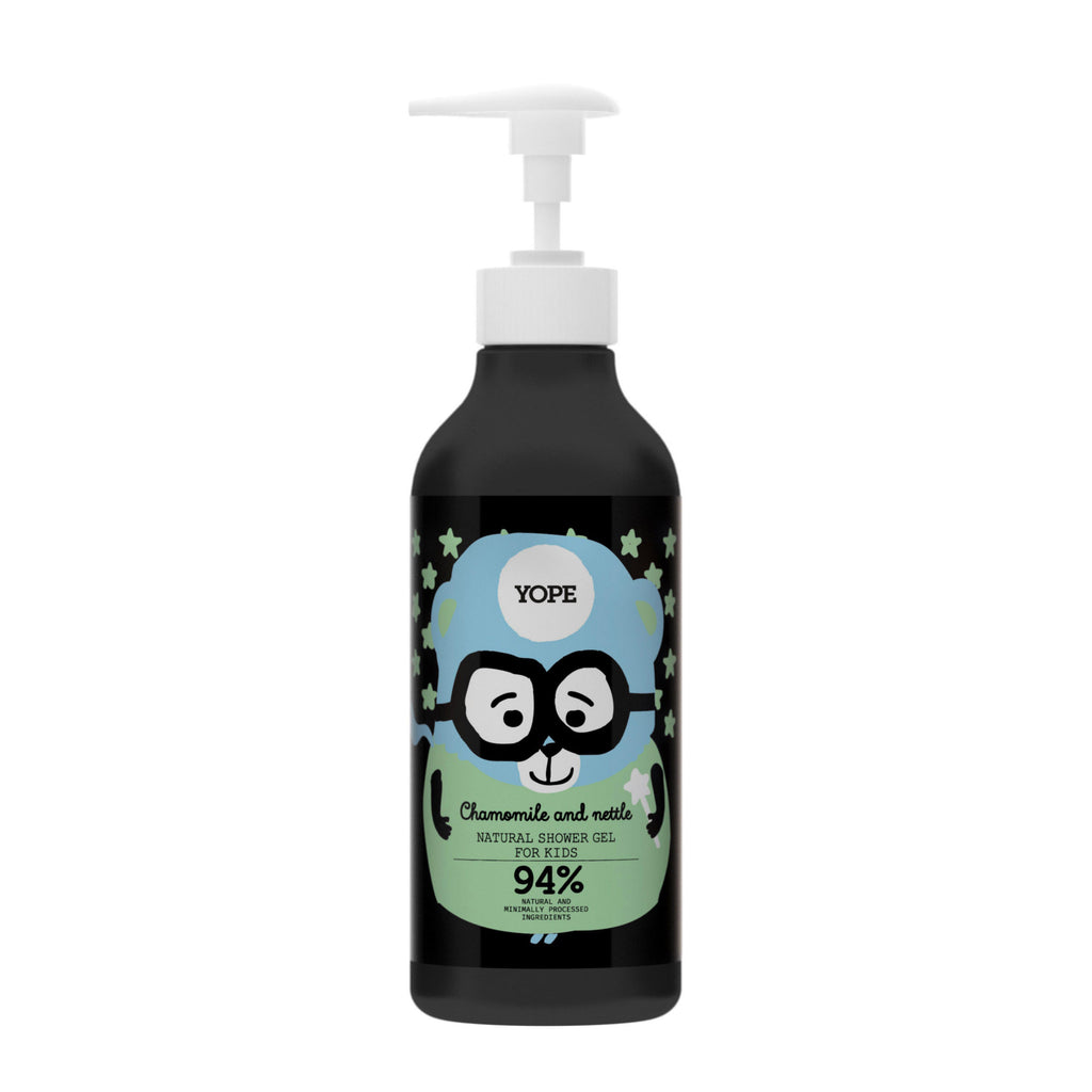 YOPE Shower Gel for Kids Chamomile & Nettle / YOPE 兒童洋金菊丶蕁麻沐浴露 - Xavi Soap