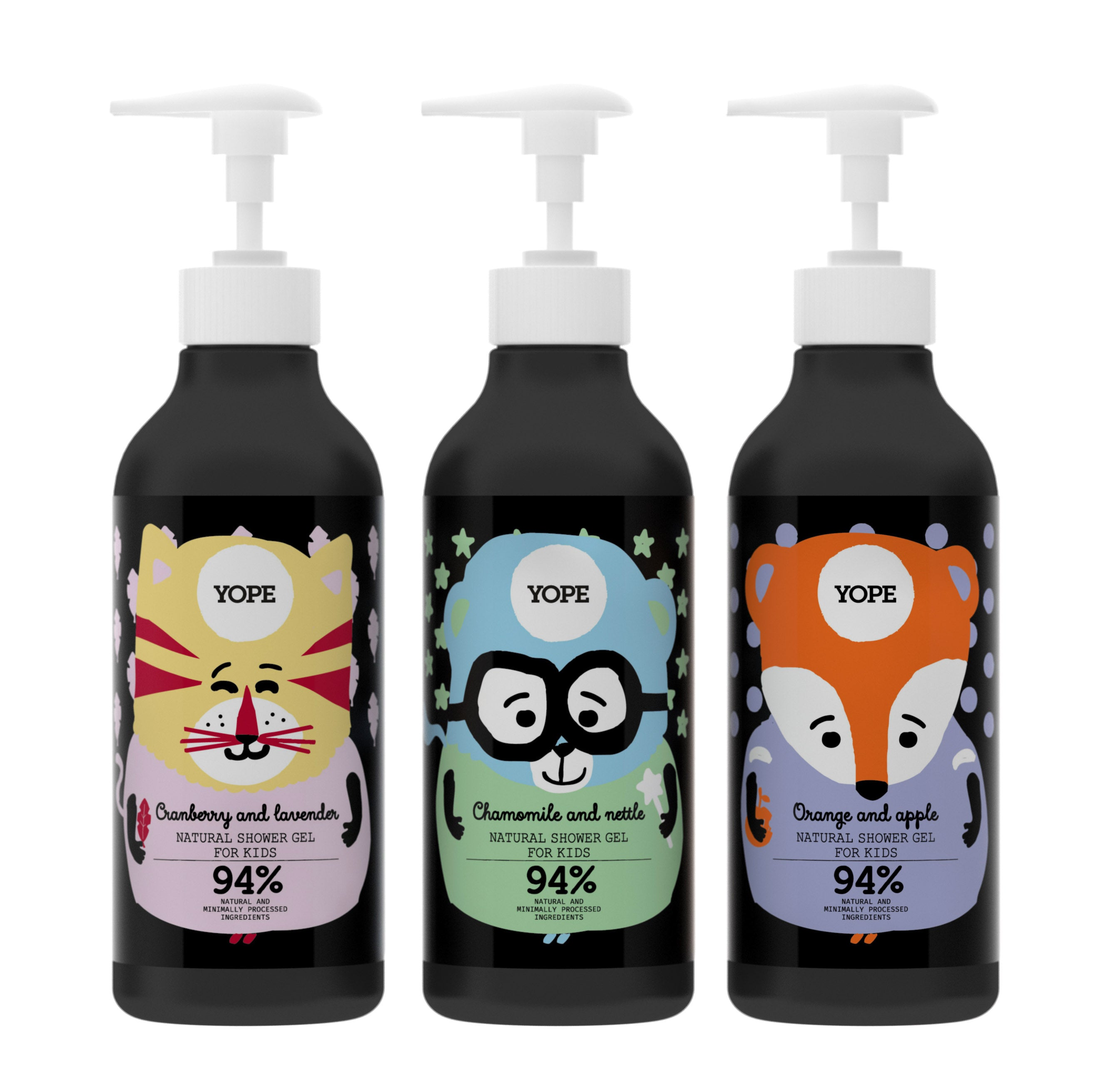 YOPE Shower Gel for Kids Orange & Apple / YOPE 兒童香橙丶蘋果沐浴露 - Xavi Soap