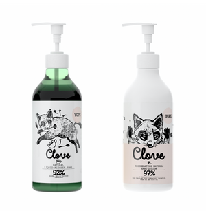 YOPE Kitchen Hand Soap and Large Hand Lotion Duo Set*/ YOPE 厨房洗手液配大枝裝手部乳液組合*