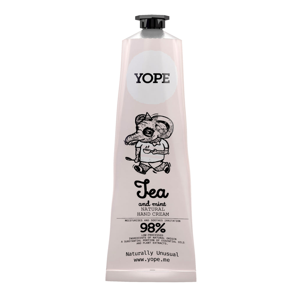YOPE Hand Cream Tea & Peppermint / YOPE 茶丶薄荷香護手霜 - Xavi Soap