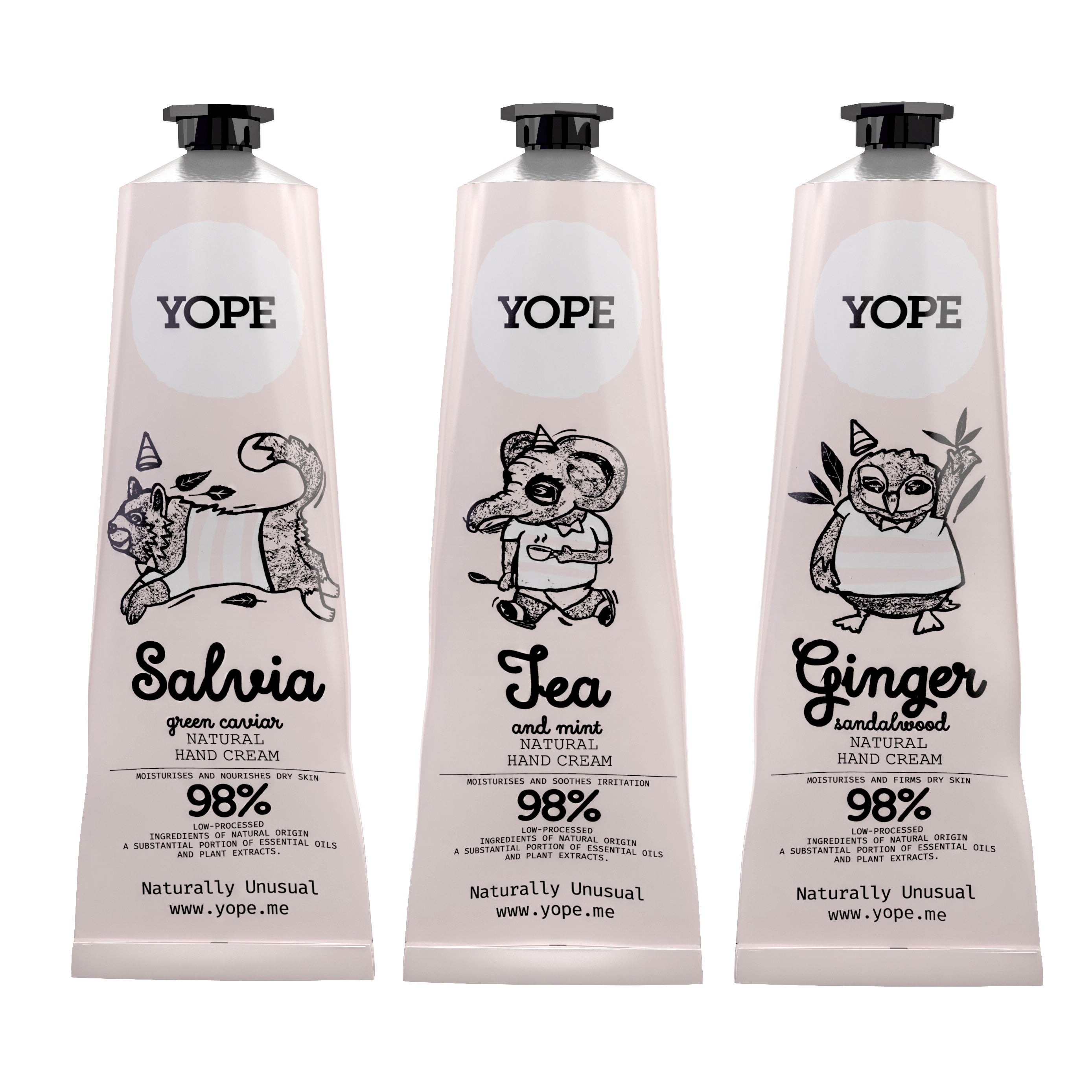 YOPE Hand Cream Ginger & Sandalwood / YOPE 薑丶檀香護手霜 - Xavi Soap