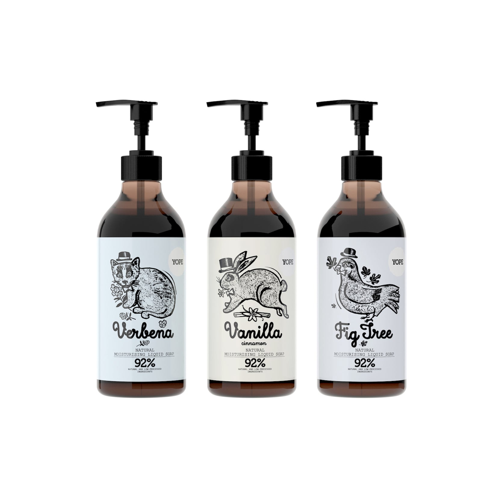 YOPE Liquid Hand Soap Fig Tree / YOPE 無花果樹洗手液 - Xavi Soap