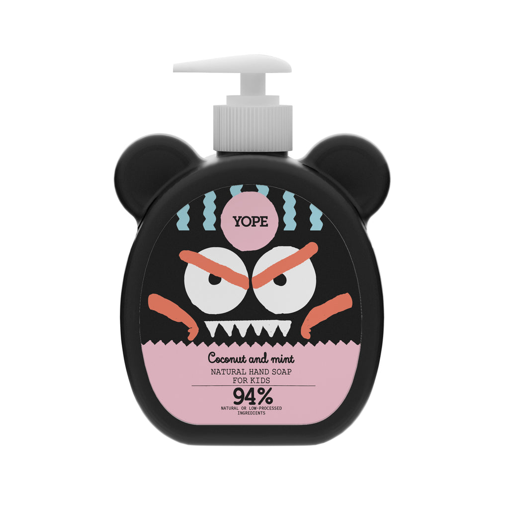 YOPE Hand Soap for Kids Coconut & Mint / YOPE 兒童椰子丶薄荷洗手液 - Xavi Soap