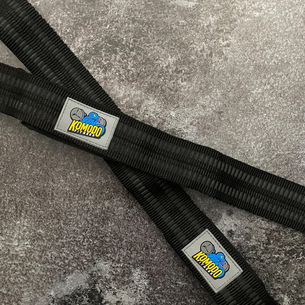 KOMODO FITNESS REINFORCED Lifting Straps
