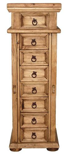 Jewelry Armoire with Side Doors