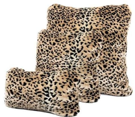 Leopard Print Pillows
