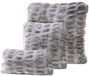 Grey Mink Pillows