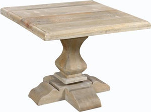 Brisbane Collection Pedestal Side Table