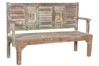 Eartha Collection Bench