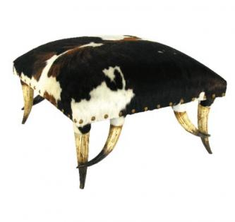 Horn Collection Ottoman