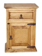 Load image into Gallery viewer, Mansion Collection 1 Door 1 Drawer Nightstand