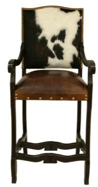 Ranch Collection Regency Barstool with Arms