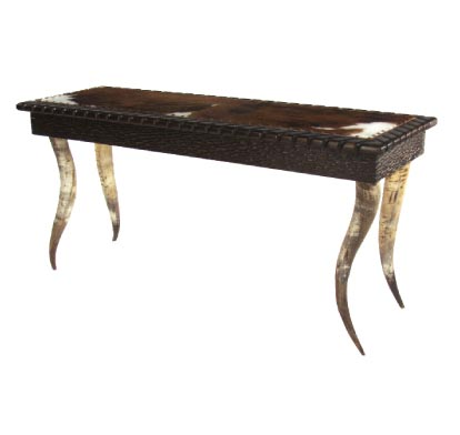 Horn Collection Sofa Table