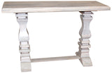Brisbane Pedestal Console Table
