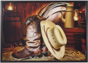 Deeply Rooted Cowboy Artwork