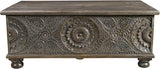 Arabella Carved Box Coffee Table