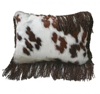 Ranch Collection Boudoir Pillow with Fringe
