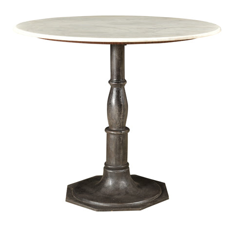 "Denali Marble Top 36"" Dining Table"