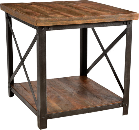 Weler End Table with Shelf