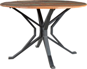 Asheville Cross Round Dining Table