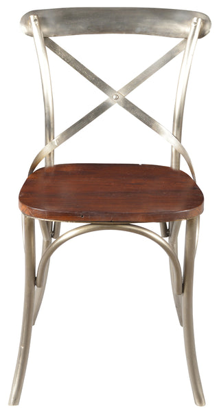 Asheville Cross Back Side Dining Chair