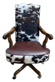 Hacienda Cowhide Office Chair