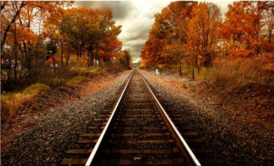 Autumn Rails Artwork