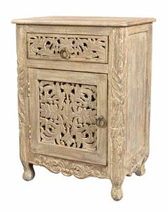 Arabella Collection One Drawer One Door Nightstand