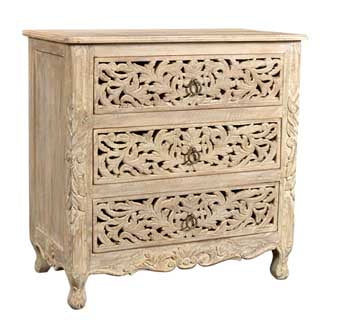 Arabella Collection Carved Nightstand