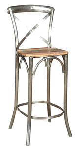 Asheville Cross Back Barstool