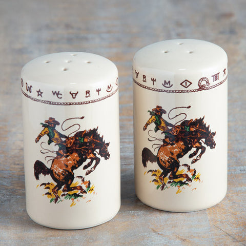 Bronco Salt & Pepper Set