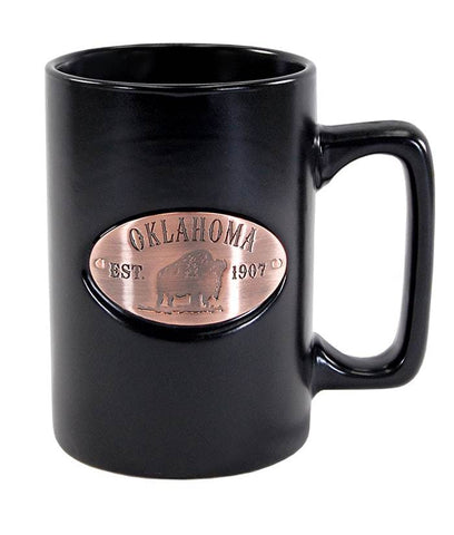 Copper Medallion Mug (Matte Black)