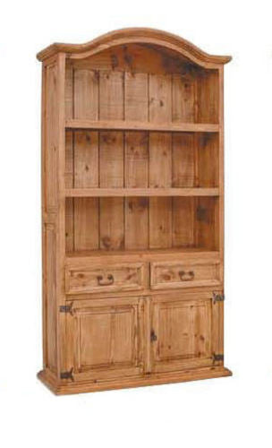 2 Door 2 Drawer Bookcase