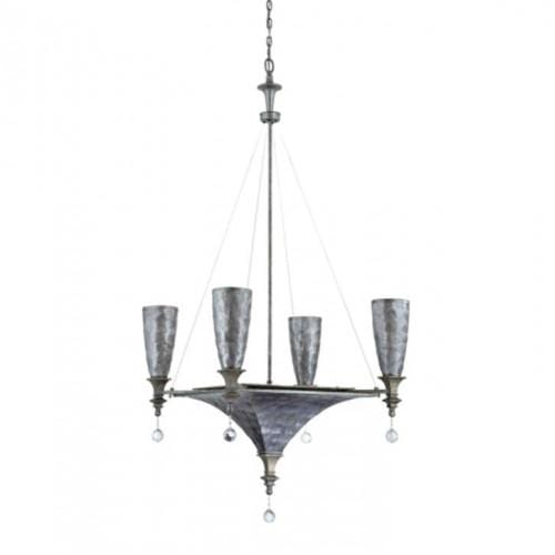 Capiz 7 Light Incandescent Chandelier