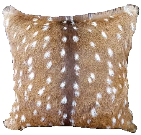 Axis Deer Hide Pillow