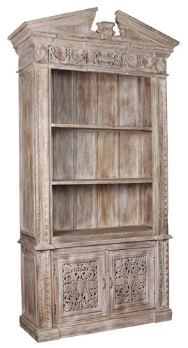 Cornwall Carved Bookcase