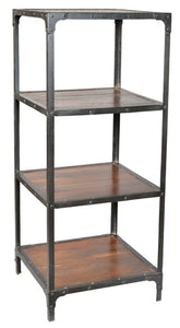 Cornwall Iron Frame Book Shelf