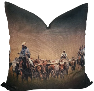 Cowboys Ranchin' Pillow