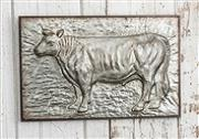Metal Embossed Farm Animal Frame
