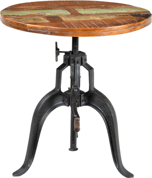 "Cornwall Iron Base Round 36"" Pub Table"