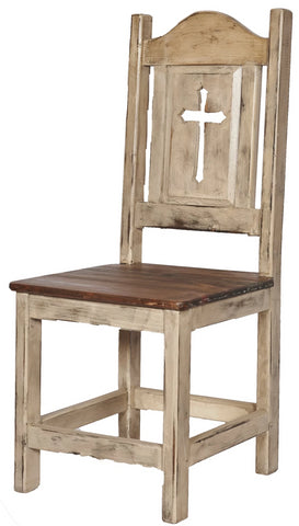 Cross Side Dining Chair