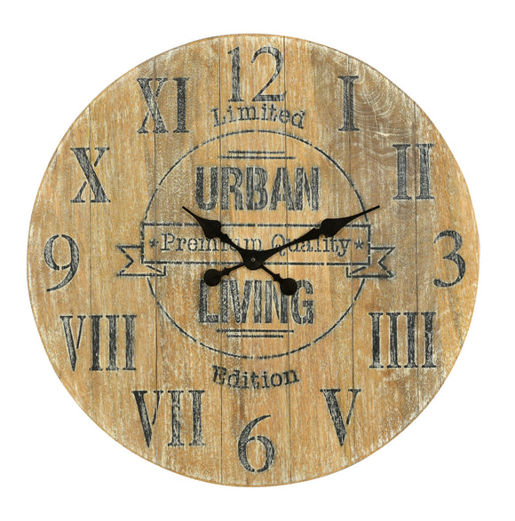 Denali Wood Clock