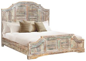 Eartha Eastern Carved Bed