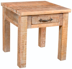 Elfin Side Table with Drawer