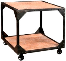 Elfin Iron Frame End Table