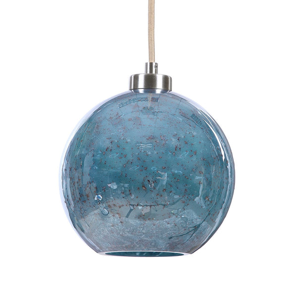 Blue Calcite Pendant Light