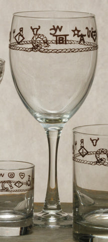 Goblet with Brands
