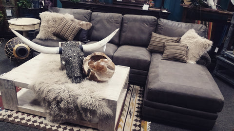 Houston Sofa with Chaise Lounge